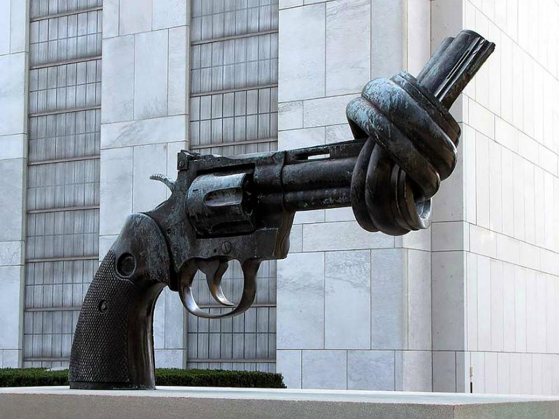 Завязанный револьвер